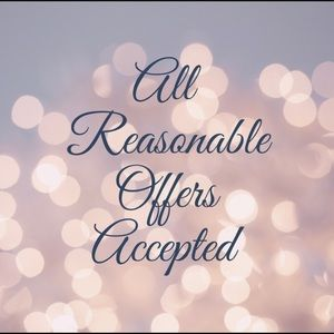Other - All reasonable offers accepted